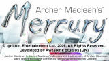 Archer Maclean's Mercury PSP Title screen