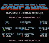 Dropzone NES The game gives you information about the enemies.
