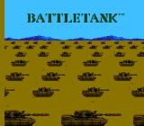 Garry Kitchen's Battletank NES Title screen