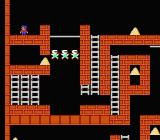 Championship Lode Runner NES First stage