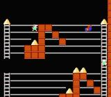 Championship Lode Runner NES On this stage, you must display some serious acrobatics skill...