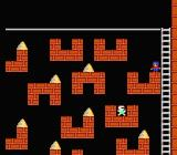 Championship Lode Runner NES This level features few ladders and many separate blocks.