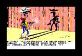 Lucky Luke Amstrad CPC Screen between Levels (French Version)