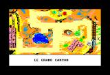 Lucky Luke Amstrad CPC You have arrived to the Grand Canyon (French Version)...