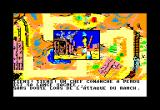 Lucky Luke Amstrad CPC Visiting the Ranch Owners (French Version)...