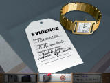 Law & Order: Dead on the Money Windows Evidence from the body-- the deceased's Cartier watch