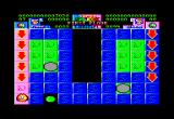 Super Skweek Amstrad CPC Keep painting the Blue tiles...