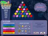 Pat Sajak's Trivia Gems Windows The first mode shows you the randomly selected categories and the randomly generated pyramid and lets you pick your piece and where to start.
