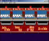 Beat the House Windows 3.x Video poker selection