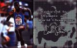 The Carl Lewis Challenge DOS Official sponsor