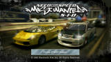 Need for Speed: Most Wanted 5-1-0 PSP Title screen