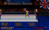"WWF European Rampage Tour DOS ""Ohhhhh yeahhhh! I want everybody to freak out, freak out! The Macho Man is right here and I'm gonna take it to the limit, yeah!"""