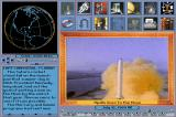 Space Adventure DOS Video clip of rocket launch