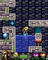 Diamond Rush J2ME This mine would fall and explode, if it wasn't floating on the water