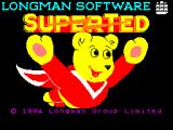 SuperTed ZX Spectrum Title Screen