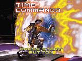 Time Commando SEGA Saturn The title screen. Note that the game runs in PAL-standard resolution... despite this being an NTSC release.
