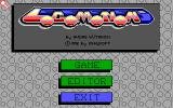 Locomotion DOS Main menu (EGA)