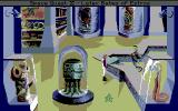 Space Quest IV: Roger Wilco and the Time Rippers Amiga Roger shops for some new clothes.