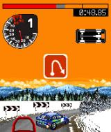 Colin McRae Rally 2005  J2ME A hairpin in Sweden