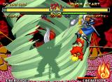 Samurai Shodown V Neo Geo Through his super move Tenkai Unri, Yunfei Liu hit-damages Charlotte with a huge green wind column!