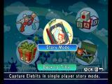 Elebits Wii Main menu; begin story mode?