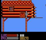 Wizards & Warriors III: Kuros - Visions of Power NES A house up on stilts