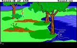 King's Quest DOS Exploring the wilderness