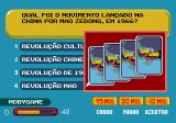 Show do Milhão Volume 2 Genesis Choosing the cards help, the player must pick one of three shuffled cards (K, A, 2 and 3), each one corresponding to the amount of wrong choices that will be removed from the screen.