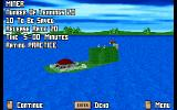 Lemmings 3D DOS Level overview. Small, isn't it?