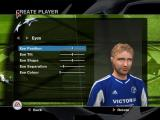 UEFA Champions League 2004-2005 Windows Creating a player.