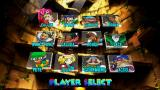 Power Stone Collection PSP Power Stone 2: character selection screen