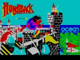 Hunchback ZX Spectrum Loading screen