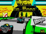 WEC Le Mans ZX Spectrum Loading screen
