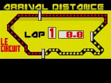 WEC Le Mans ZX Spectrum Final summary screen