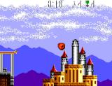 Air Rescue SEGA Master System Crashed into the castle