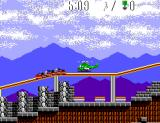 Air Rescue SEGA Master System The rollercoaster is about to crash into the helicopter