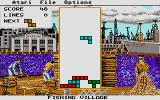 Tetris Atari ST Playing on level 1 (Spectrum Holobyte)