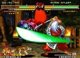 Samurai Shodown V Special Neo Geo Galford's attempt to attack Zankuro Minazuki is frustrated, thanks to his move Mugen-ryuu Tenchuu...
