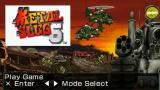 Metal Slug: Anthology PSP Game selection screen