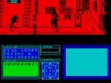 Marsport ZX Spectrum The screen jumps as I die - you can't see the other Sept