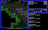 Ultima V: Warriors of Destiny DOS Monsters are clearly visible on the world map.
