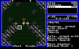 Ultima V: Warriors of Destiny DOS A battle begins. Looks like we're going to have the upper hand!