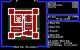 Ultima V: Warriors of Destiny DOS The effect of using a gem is one-time viewable area map.