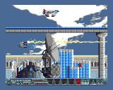 Powder Amiga The graphics are very varied for a three-disk game