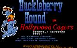 Huckleberry Hound in Hollywood Capers DOS Title Screen
