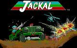 Jackal DOS Title screen (EGA)