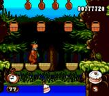 Adventures of Yogi Bear Genesis Yogi Bear crossing a wood bridge: through some accuracy, he is able to catch a piece of cake.