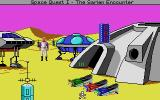 Space Quest IV: Roger Wilco and the Time Rippers DOS Boy, I remember this place! (MCGA/VGA)