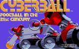 Cyberball Atari ST Loading screen