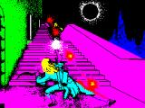 Halls of the Things ZX Spectrum Title screen